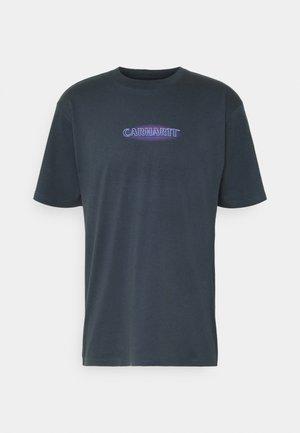 NEON SCRIPT  - T-shirt imprimé - admiral