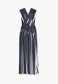 3.1 Phillip Lim - KNIFE PLEATED CROSSOVER DRESS - Maxikjole - black/white - 4