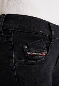 Diesel - D-EBBEY - Bootcut jeans - black - 5