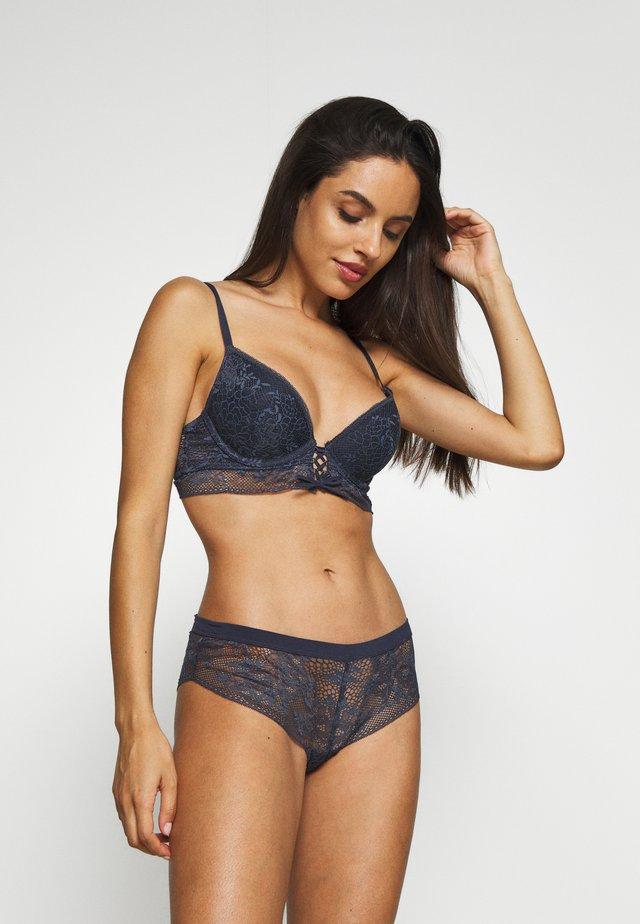BELLE CLASSIQUE - Push-up bra - bleu gris