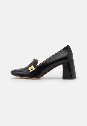 GADIR - Classic heels - nero/gros rosso/blu