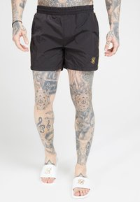 SIKSILK - CRUSHED TAPE - Short - black/gold - 0