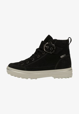Sneakersy wysokie - schwarz 092