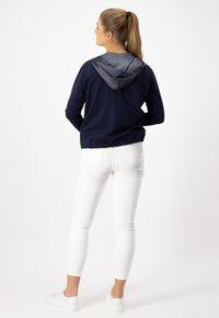 JUST WHITE - Summer jacket - marine uni - 3