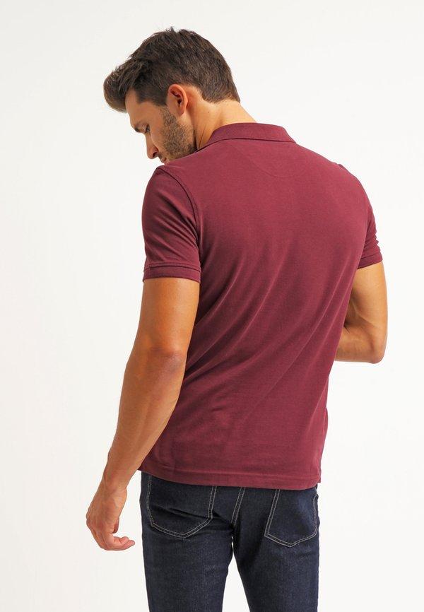 Pier One Koszulka polo - bordeaux/bordowy Odzież Męska OHEB