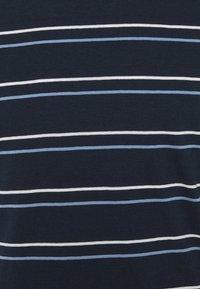 Club Monaco - STRIPE TEE - Print T-shirt - navy multi - 6
