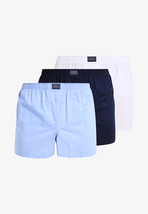 OPEN 3PACK - Boxer shorts - white/blue/navy