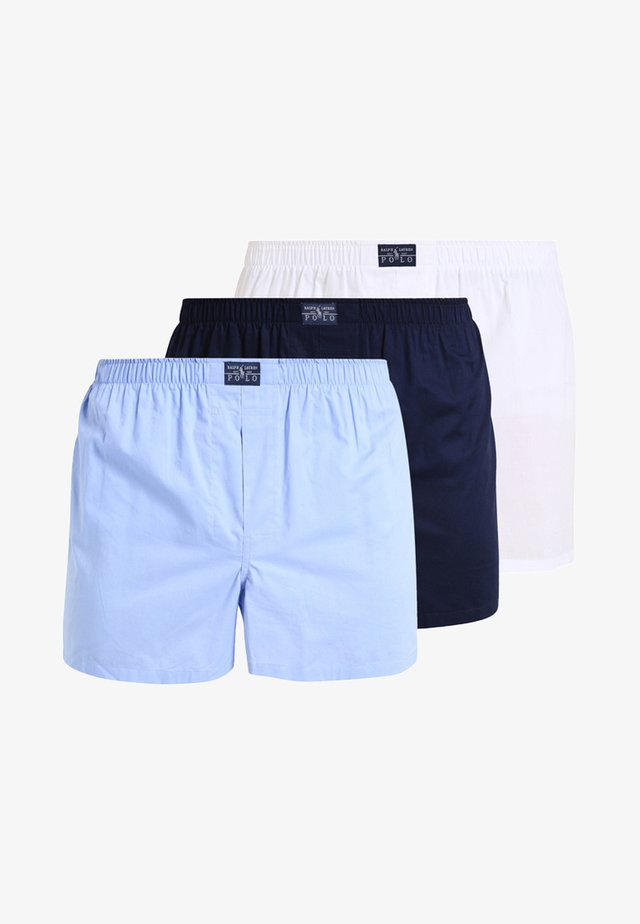 OPEN 3PACK - Caleçon - white/blue/navy