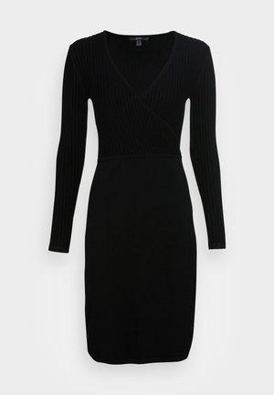 DRESSES FLAT - Jumper dress - black