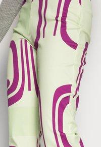 HOSBJERG - DITTE PALOMA PANTS - Spodnie materiałowe - royal fade mint - 4