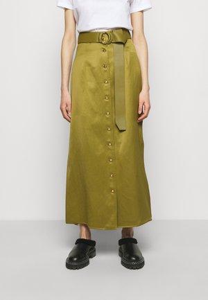 CLASSIC SKIRT - Maxi sukně - khaki
