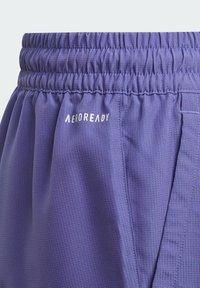 adidas Performance - CLUB TENNIS SHORTS - Sports shorts - purple - 3
