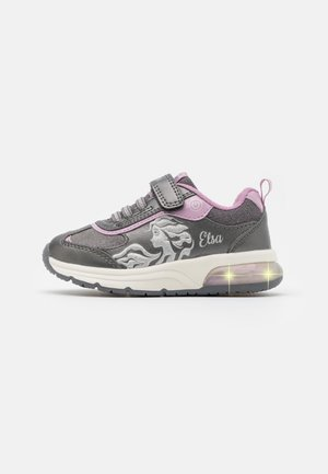 DISNEY FROZEN ELSA SPACECLUB GIRL  - Trainers - dark silver/lilac