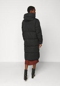 Object Tall - OBJLOUISE LONG JACKET - Down coat - black - 2