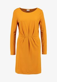 Vila - Day dress - golden oak - 5