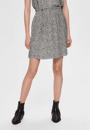 SLFKINSLEY  - Pleated skirt - birch