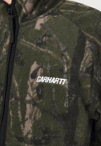 Carhartt WIP - BEAUFORT JACKET - Fleece jacket - tree green/grey - 5