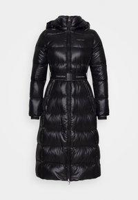 Calvin Klein - LOFTY  BELTED MAXI COAT - Dunkåpe / -frakk - black - 7