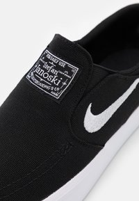 Nike SB - JANOSKI  - Slip-ons - black/white - 5