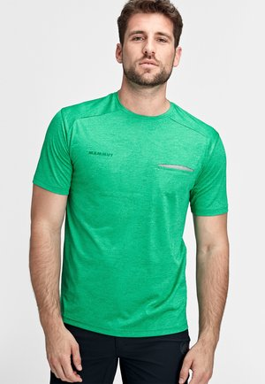 CRASHIANO - Basic T-shirt - light emerald melange