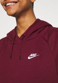 Nike Sportswear - Jersey con capucha - dark beetroot/white - 5