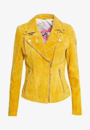 BIKER PRINCESS - Leather jacket - sun