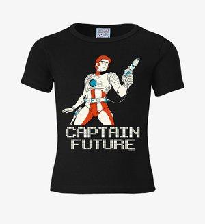 CAPTAIN FUTURE - Basic T-shirt - schwarz