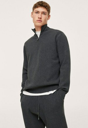 SWEATER - Jumper - charcoal