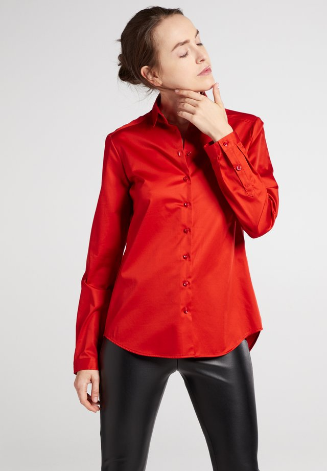 MODERN FIT - Button-down blouse - altrosé