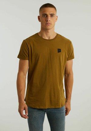 BRODY - Basic T-shirt - yellow