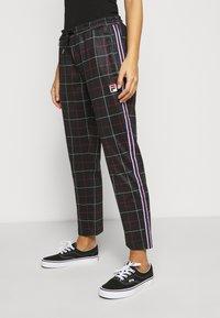 Fila Petite - WINTA CROPPED PANTS - Trousers - black - 4
