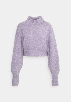 FIONA - Strikkegenser - purple