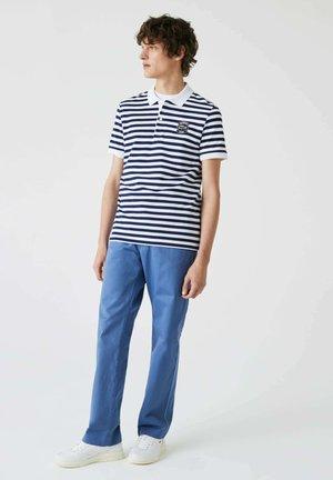 Polo shirt - bleu  blanc