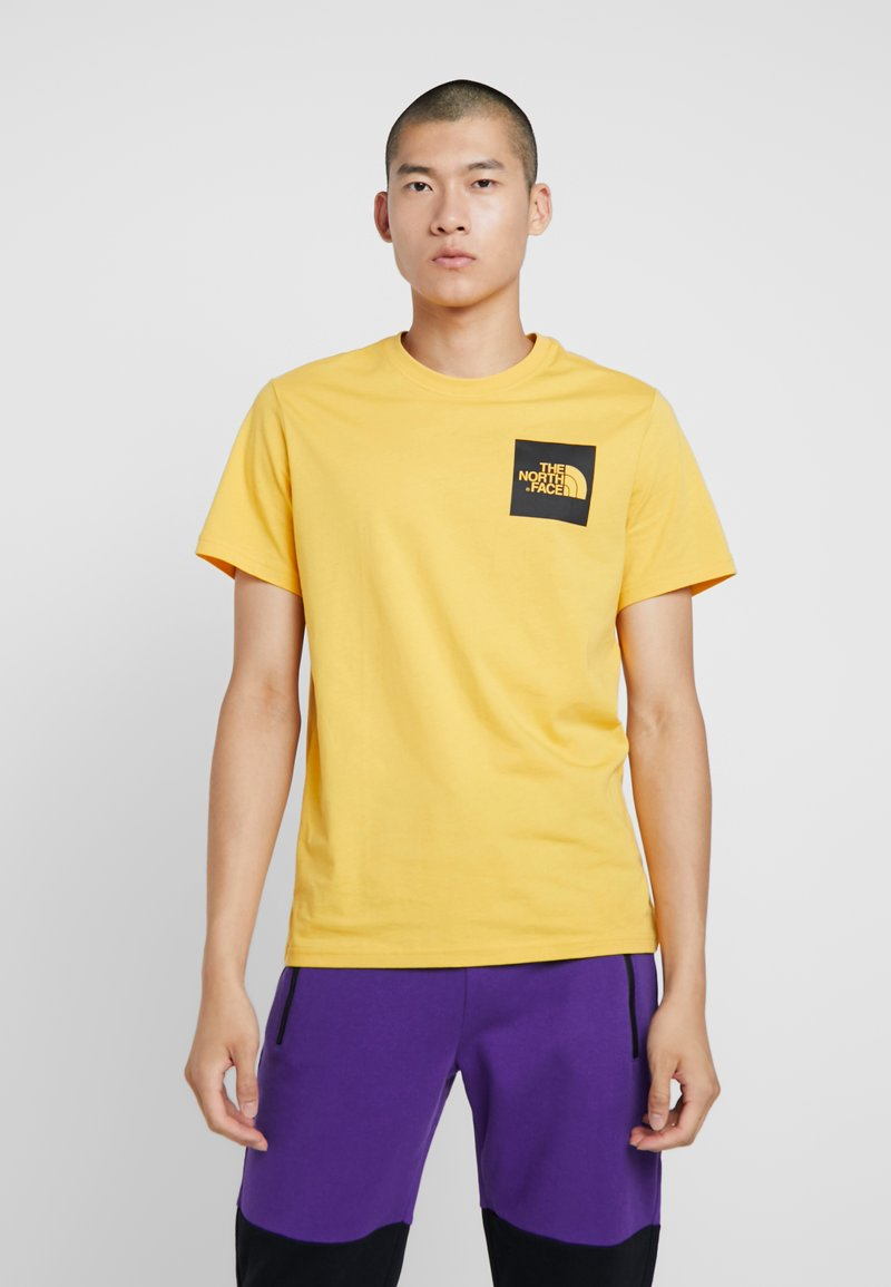 The North Face - FINE TEE - Triko spotiskem - yellow