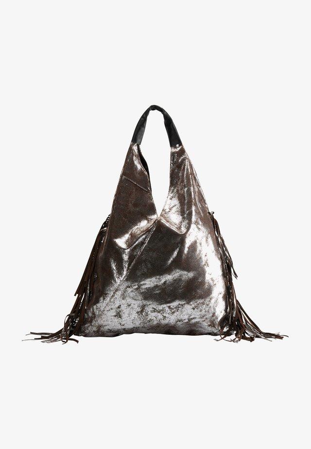 Handbag - vintage silber