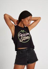 Volcom - STONEY STRETCH SHORT - Shorts - asphalt_black - 2