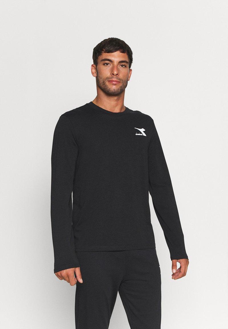 Diadora - CHROMIA - Långärmad tröja - black