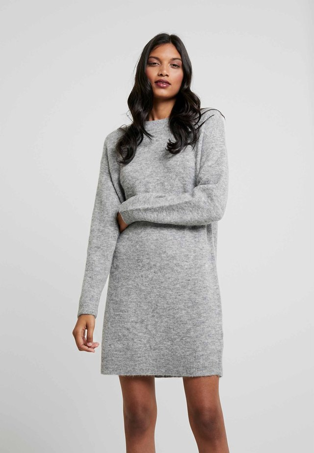 DRESS - Robe pull - grey