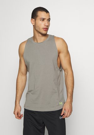 BASELINE TANK - Sports shirt - gravity green/x ray