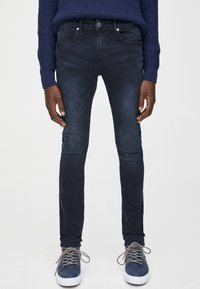 PULL&BEAR - Jeans Skinny Fit - dark blue denim - 0
