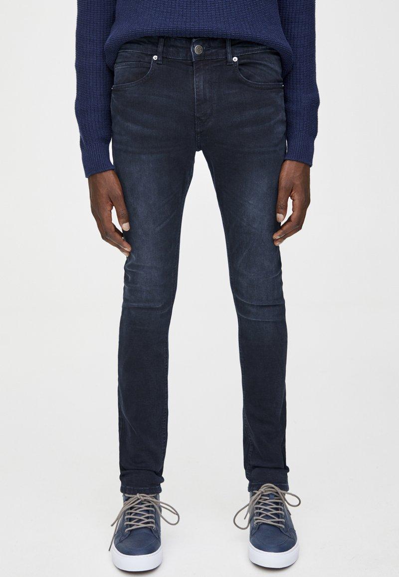 PULL&BEAR - Jeans Skinny - dark blue denim