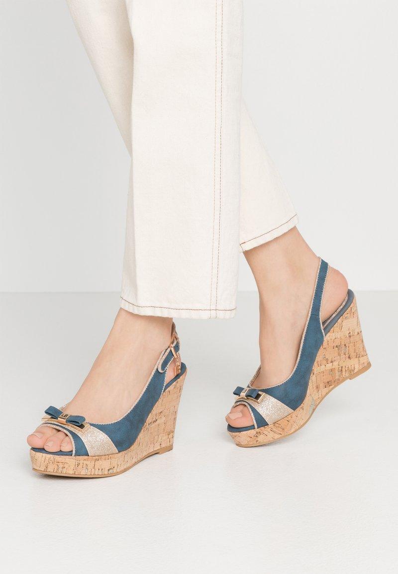 Laura Biagiotti - High heeled sandals - blue