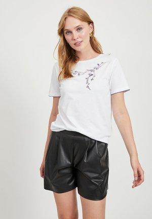 Print T-shirt - optical snow