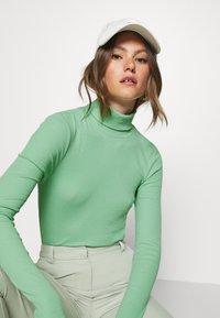 Weekday - VERENA TURTLENECK - Long sleeved top - sage green - 3