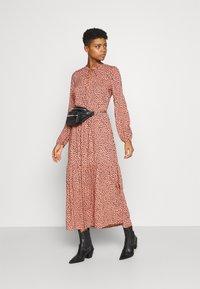 Even&Odd - Maxi dress - pink/black - 1