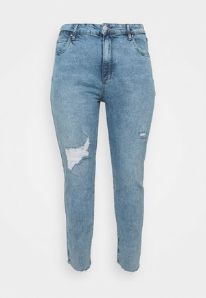 TAYLOR MOM - Relaxed fit jeans - aireys blue rip