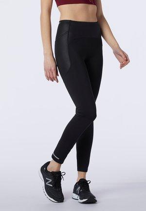 IMPACT RUN HEAT TIGHT - Leggings - Trousers - black