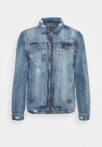 Brave Soul - Giacca di jeans - blue denim - 5