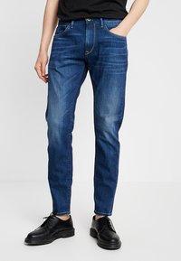 Pepe Jeans - STANLEY - Jeans Tapered Fit - dark used wiserwash - 0