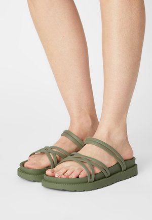 LEIA - Mules - green